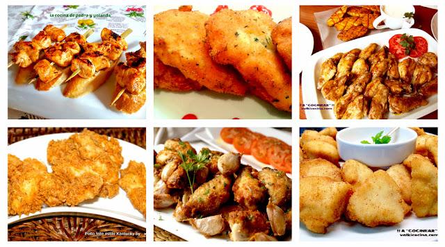 6 recetas de pollo para chuparse los dedos