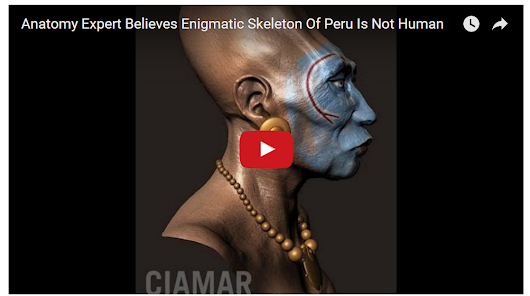 "The results of the tests on the DNA carried out on the skulls of Paracas, say that ""ARE NOT HUMAN"" VIDEO!"