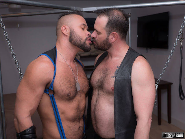 Hairy and Raw - Butch Spencer and Damien Kilauea