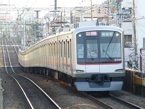 東急東横線 F特急 森林公園行き 5050系