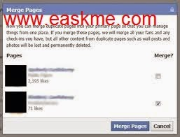 How to Merge Facebook Pages : eAskme
