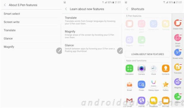 Rumor, tiga fitur baru S Pen akan hadir di Samsung Galaxy Note 7
