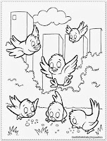 tweety bird coloring pages to print