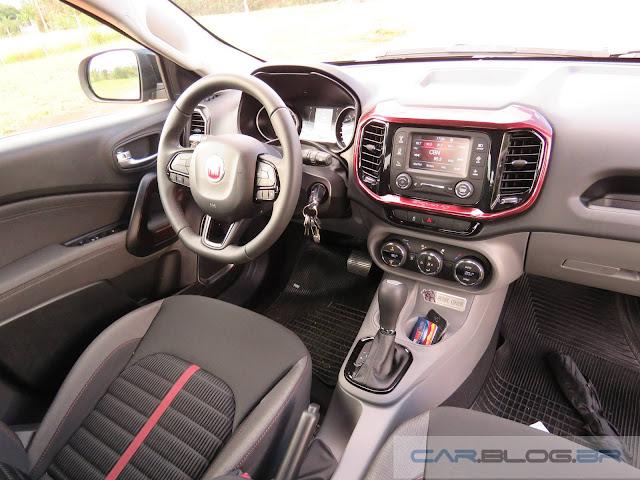 Fiat Toro - interior