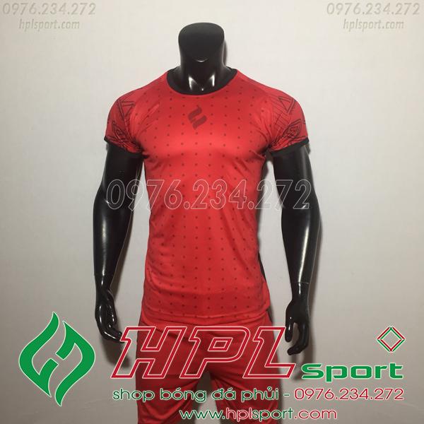 Áo bóng đá không logo Egan HQN Ala Màu Đỏ