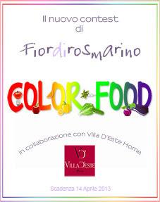 Immagine del logo del contest Color Food di Fiordirosmarino