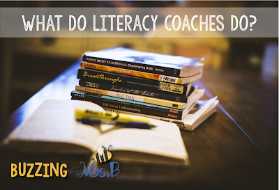 If you're a new instructional coach, you might be trying to figure out where all of your time is going! This post explains the biggest roles instructional coaches have: supporting teachers and students, analyzing data, providing professional development, planning school wide events and programs, and basically whatever the principal tells them to do! #instructionalcoaching #literacycoaching