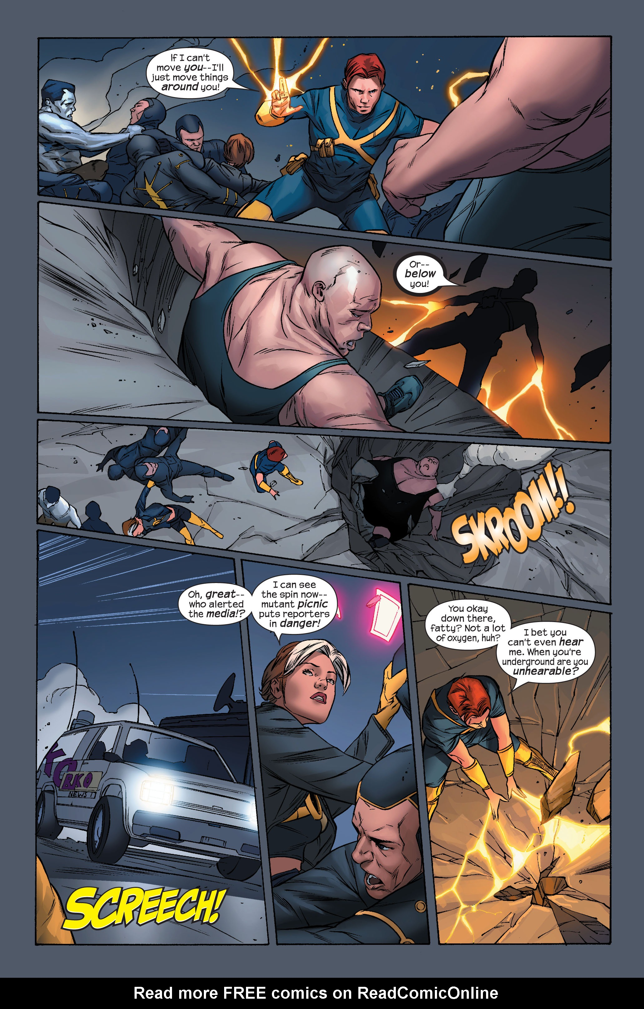 Read online Ultimate X-Men comic -  Issue #71 - 4