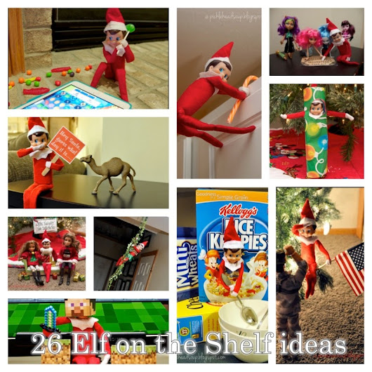26 ideas for your Elf, a 2013 recap