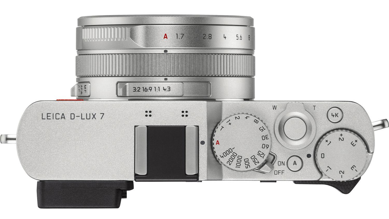 Leica D-Lux 7, вид сверху