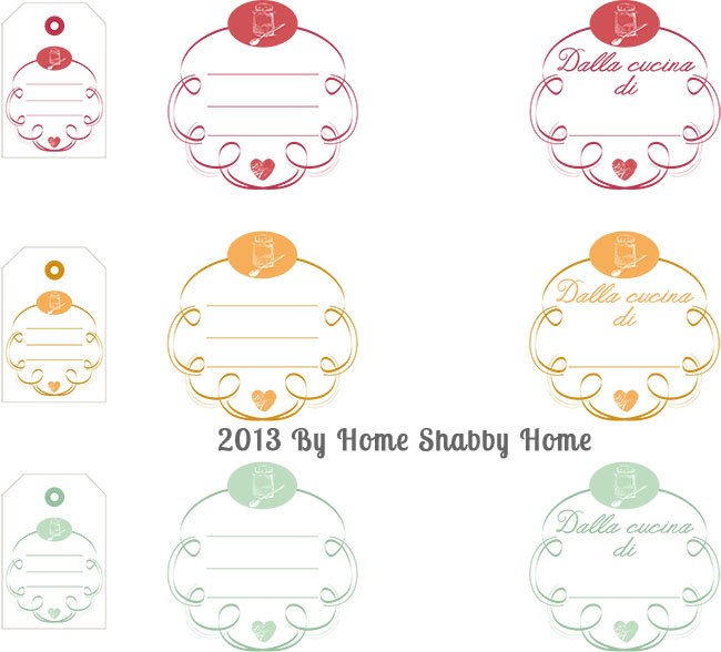 Famoso Free Printables}: Etichette per marmellate e conserve - Home  KF39