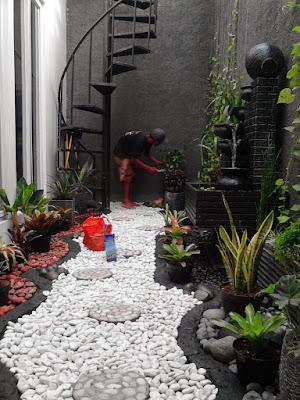 Jasa Tukang Taman Lamongan Gambar foto Taman Kering