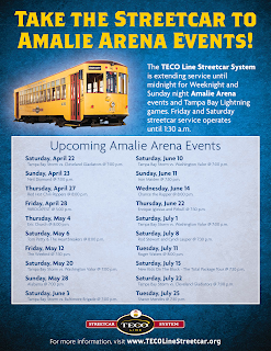 List of upcoming Amalie Arena events