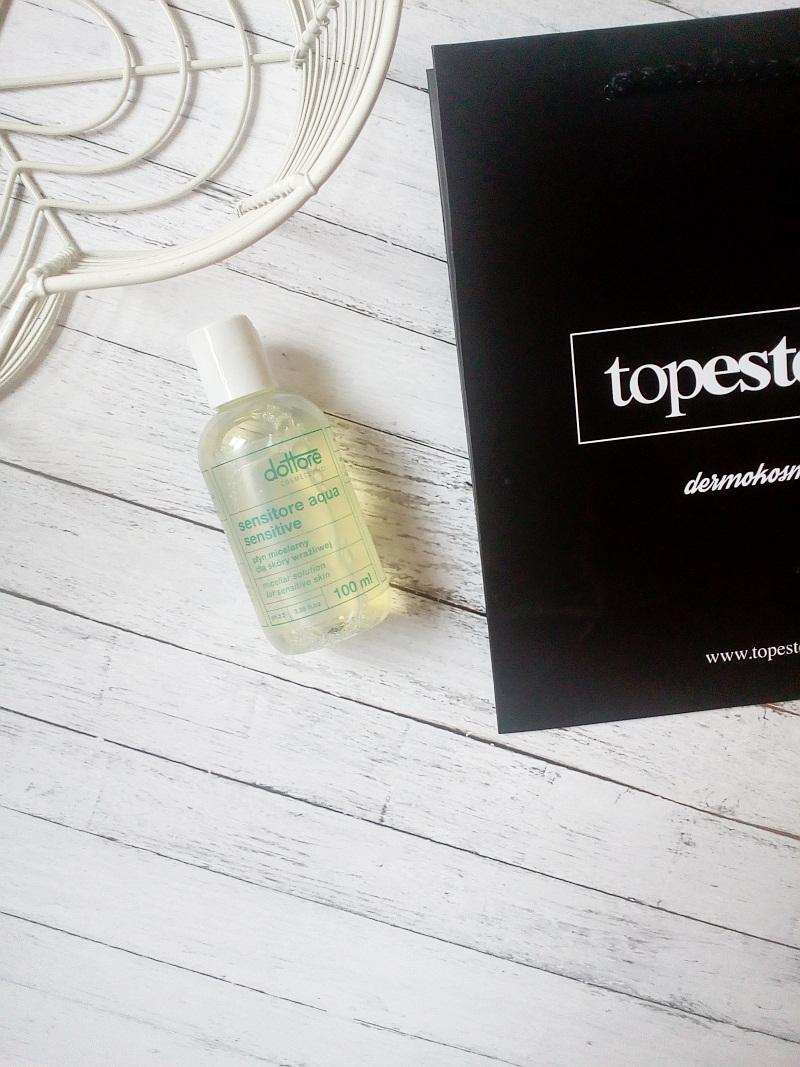 Płyn micelarny dla skóry wrażliwej Dottore - Topestetic, recenzja.