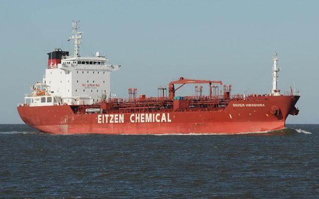 jenis kapal tanker bermuatan chemical