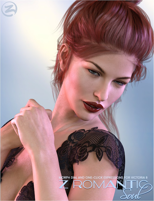 Z Romantic Soul - Morph Dial and One-Click Expressions for Victoria 8