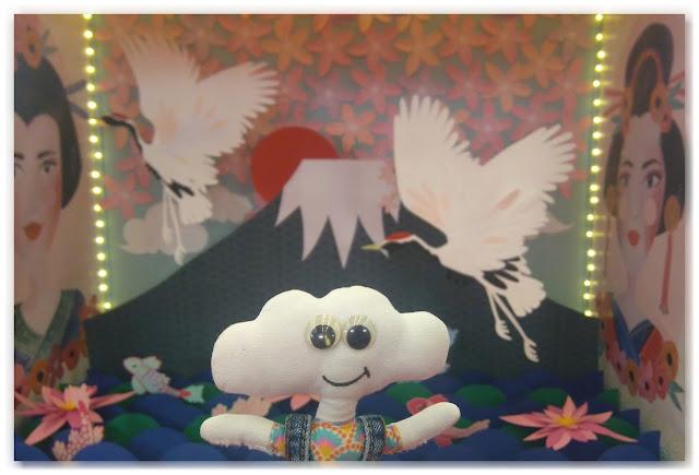 vitrine Japon en papier par Kriboute