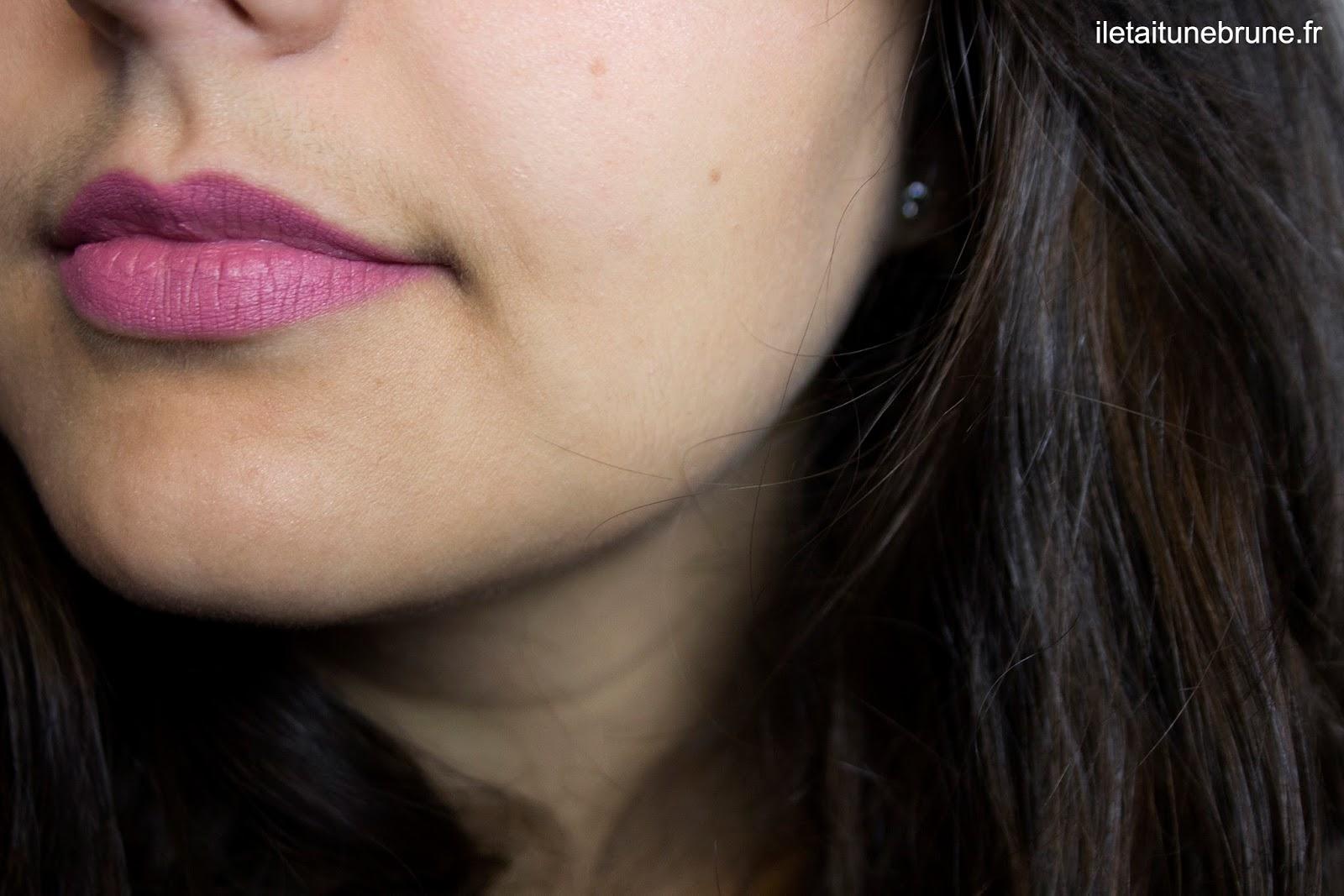 rouge à lèvres velvet passion matte lipstick mauve