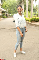 Rakul Preet Singh in Jeans and White Shirt At Jaya Janaki Nayaka le Logo Launch ~  Exclusive 037.JPG