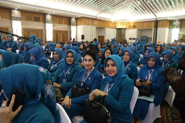 Thia Yufada Hadiri Rakornas TP PKK se-Indonesia