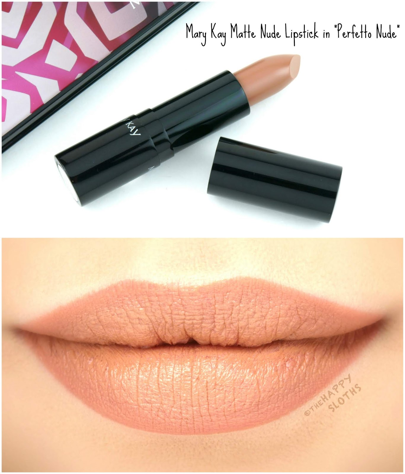 "Mary Kay | Spring 2019 Matte Nude Lipstick in ""Perfetto Nude"": Review and Swatches"