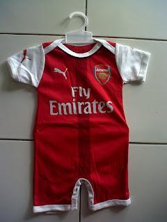 Jual Jersey Bayi (Jumper) Arsenal Home di toko jersey jogja sumacomp, murah berkualitas