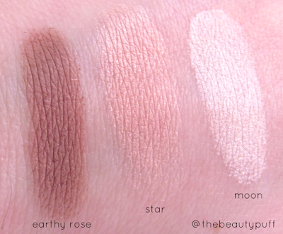 ecco bella swatches - the beauty puff