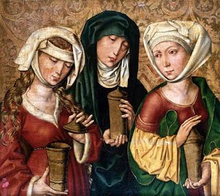 As 3 Marias que estavam junto à cruz de Jesus