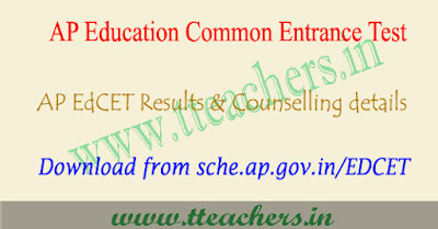 AP EdCET Results 2019, apedcet result, counselling dates 2019
