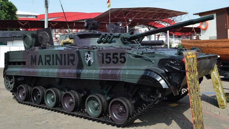 BMP-3F, Marinir