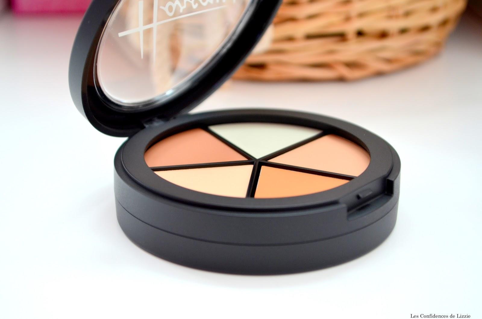palette - teint 0 défaut - teint parfait - teint lumineux - teint unifié - camoufler les imperfections - camoufler les irrégularités - estomper les cernes - illuminer le teint - affiner les traits du visage