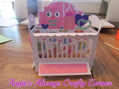 Crib Box Card for Baby