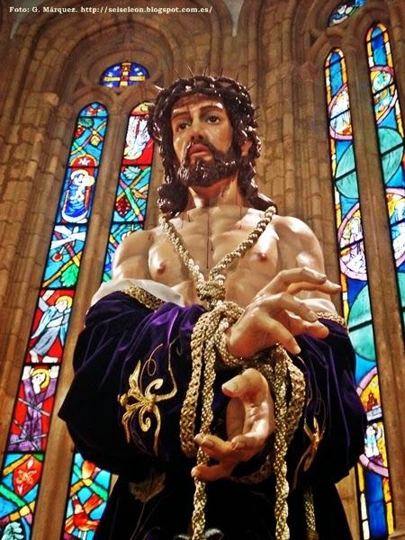 Santo Cristo de la Humillación y Paciencia. Real cofradía de Minerva y Vera Cruz. León. Foto G. Márquez.