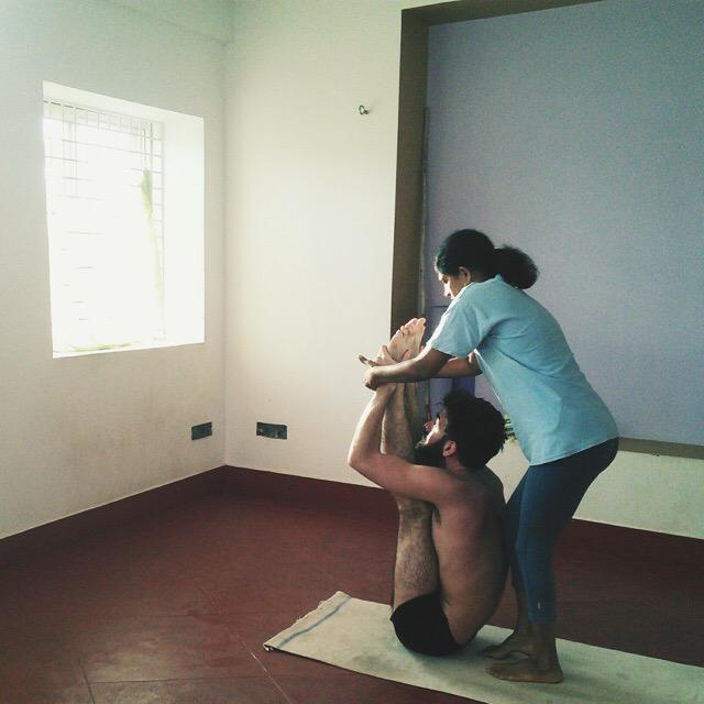 Shashikala, Female Ashtanga Yoga Teacher in Mysore