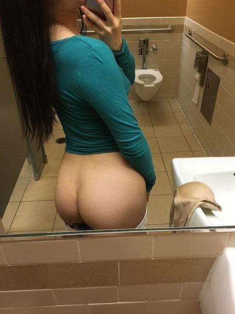 undressing selfie in bathroom 4