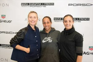 Maria Sharapova and other tennis tournament in Los Angeles