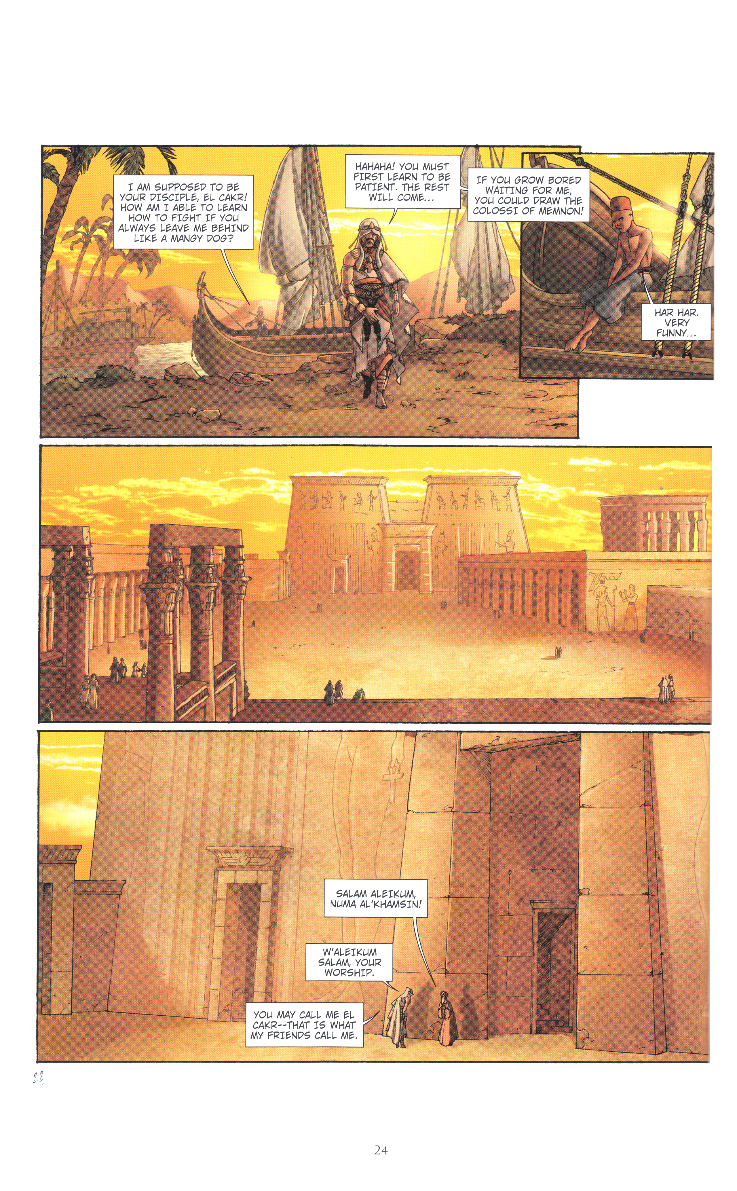 Read online Assassin's Creed (2012) comic -  Issue #4 - 24