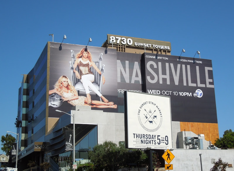 Series premiere Nashville billboard