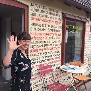 Katharina Ranftl verlässt das kleine Atelier in Schondorf