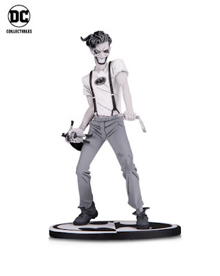 NYCC 2018 DC Collectibles Batman Black & White WHITE KNIGHT The Joker by Sean Murphey statue