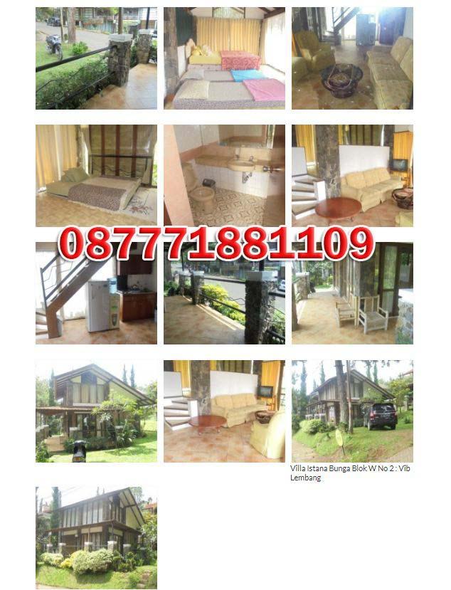 Villa Murah di Lembang | Villa Istana Bunga Blok W No 2 Lembang - Bandung