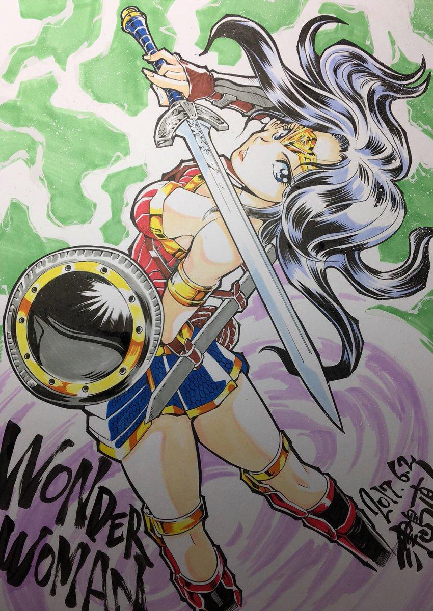 Mulher Maravilha Anime Manga