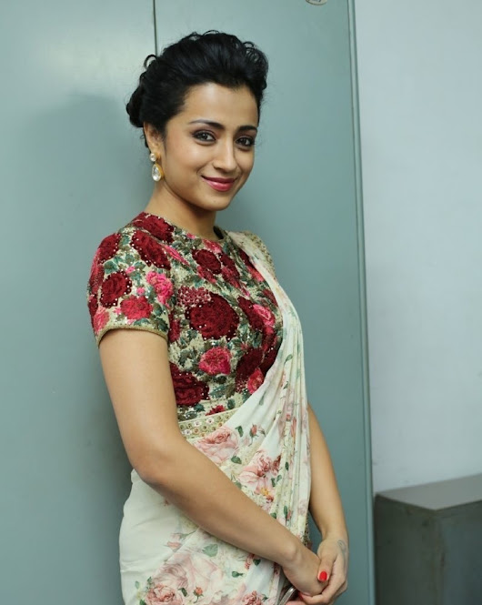 Trisha at Thoongavanam Trailer Launch