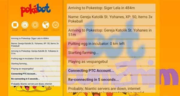 Update PokeBot Android v 1.0.5 Apk Terbaru