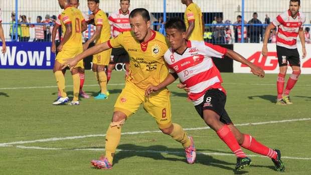 Madura United vs Sriwijaya FC