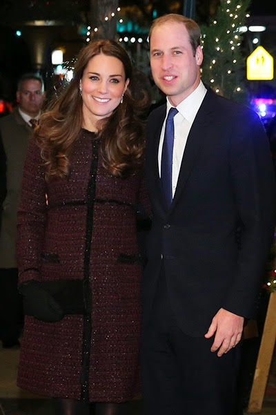 Prince William and Duchess Catherine in New York