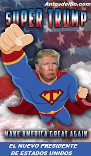 Donald Trump nuevo presidente de los Estados Unidos