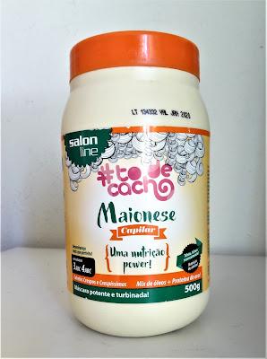 Maionese capilar Salon Line para nutrição de cabelos cacheados