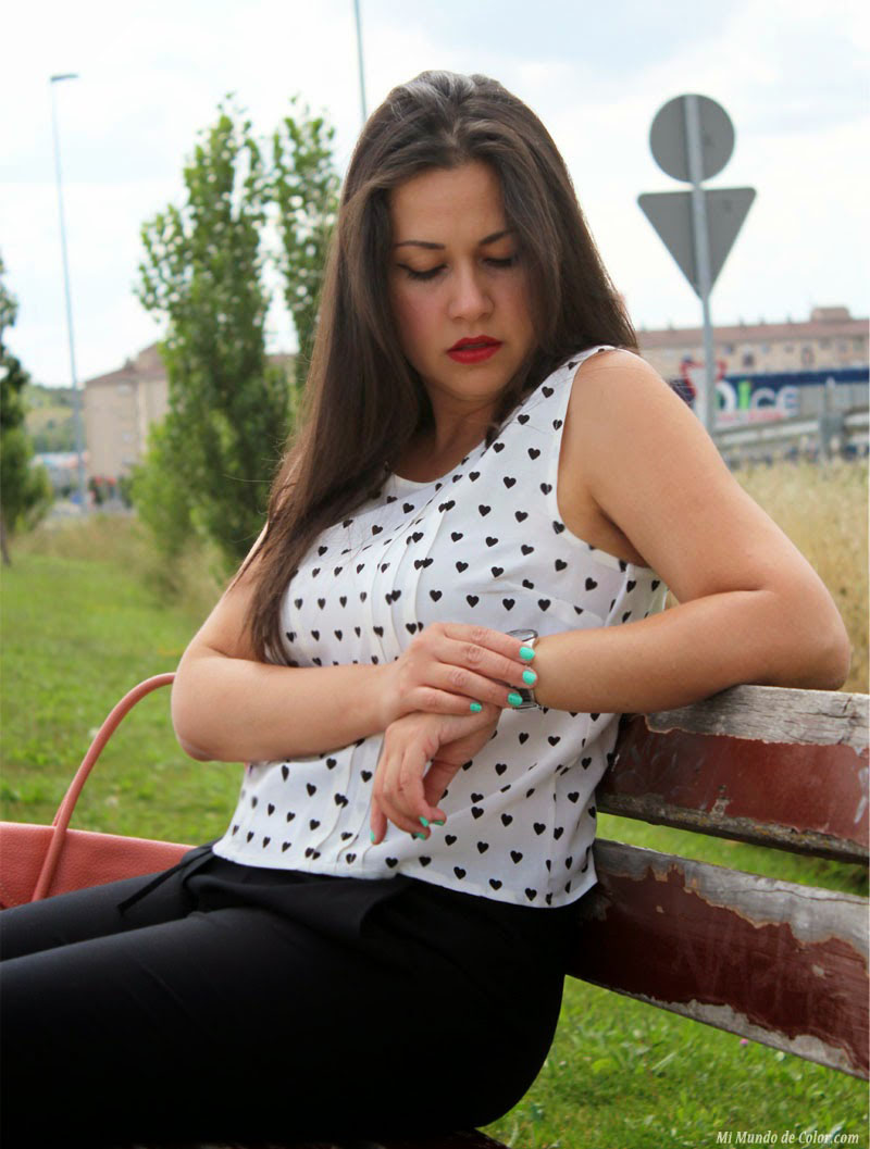 outfit clasicc black and white