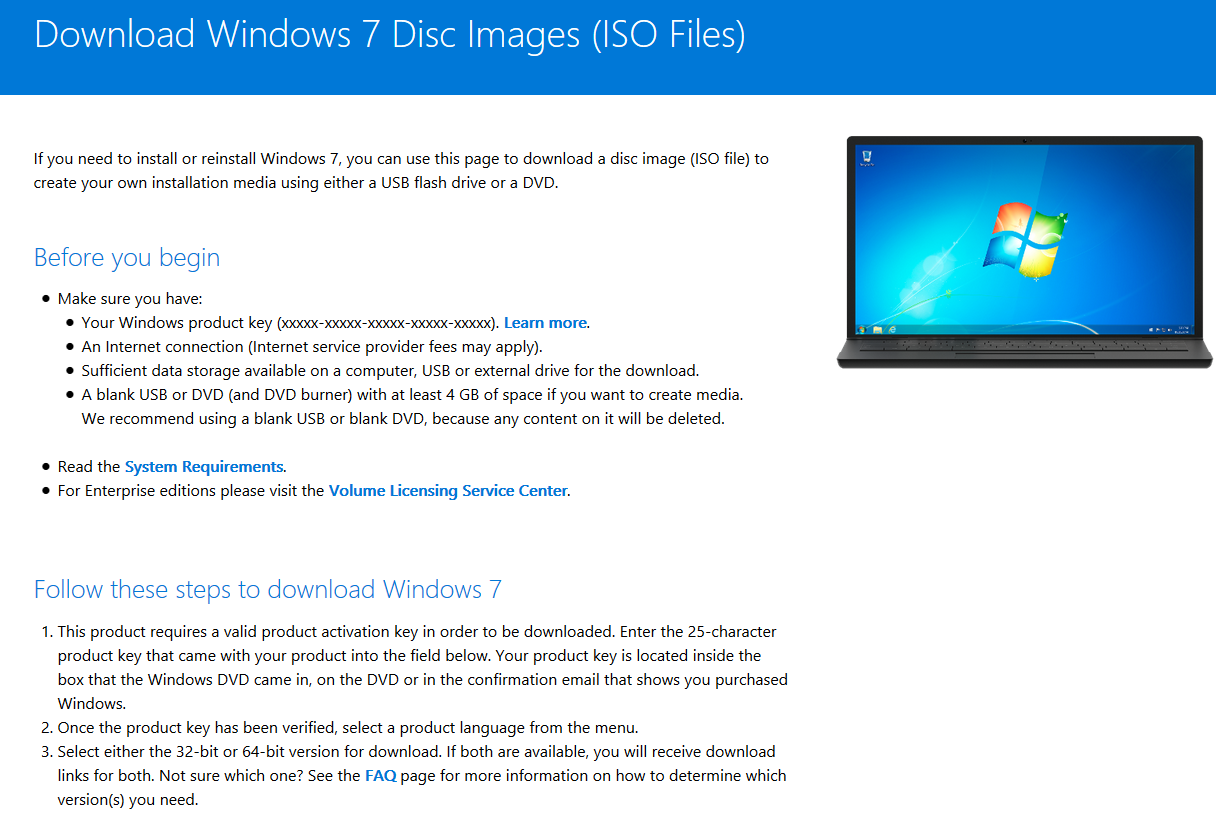 Download windows 7 disc images (iso files) microsoft / iso files.